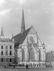 Universitätskirche St. Pauli in Leipzig (Foto: Roger u. Renate Rössing, Deutsche Fotothek, CC BY-SA 3.0 DE)