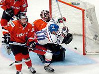 Vaclav Prospal scores the first goal, photo: CTK