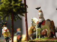 Dioráma představující bitvu u Domašova v roce 1758, foto: archiv Jaroslava Podmola