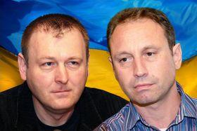 Martin Dorazín (a la izquierda) y Vít Pohanka, foto: archivo de la Radiodifusión Checa