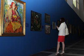 Выставка «Далекое/ Близкое / Илья Репин и русское искусство» (Фото: Официальный Facebook Южночешской галереи Миколаша Алеша)