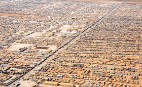 Zaatari refugee camp, photo: U.S. Department of State, Public Domain