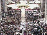 La canonización de Santa Inés, foto: ČT24