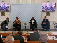 La conférence sur l'Afrique à Prague, photo: Magdalena Hrozínková