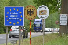 Czech Republic–Germany border, photo: ČTK / Slavomír Kubeš