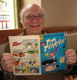 Gene Deitch, photo: archive of Gene Deitch, CC BY-SA 3.0
