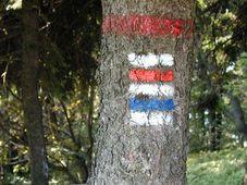 Markierungen der Wanderwege