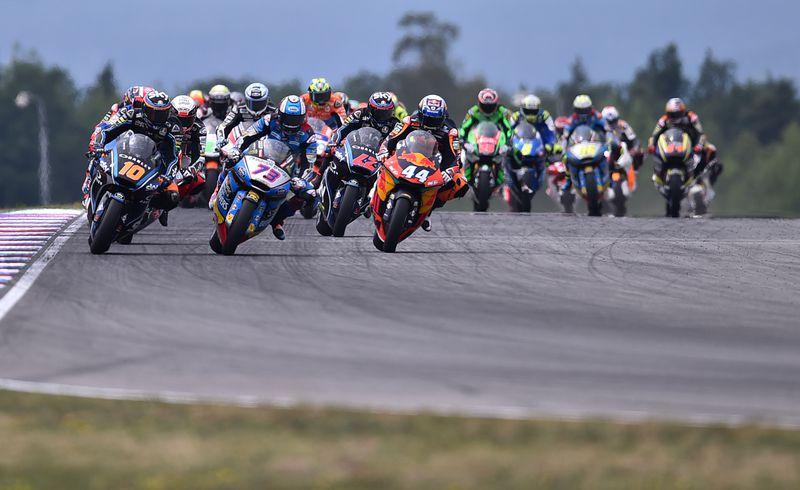 Grand Prix moto, photo: Luboš Pavlíček/ČTK