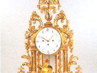 Klassizistische Uhr, Böhmen, ca. 1880