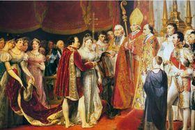 Le mariage de Napoléon et Marie-Louise d'Autriche