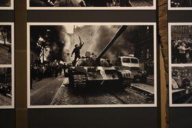 Z výstavy Invaze 68, foto: Štěpánka Budková