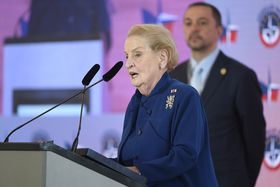 Madeleine Albright, photo: ČTK/Ondřej Deml