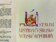 Erste tschechoslowakische Verfassung (Foto: Archiv der tschechischen Akademie der Wissenschaften)