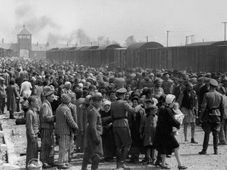 Auschwitz-Birkenau death camp, photo: archive of Yad Vashem, Public Domain