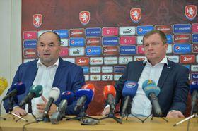 Miroslav Pelta et Pavel Vrba, photo: ČTK