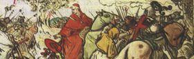 Кардинал Чезарини в битве у города Домажлице