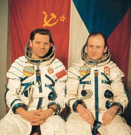 Aleksei Gubarev, Vladimír Remek in 1978, photo: CTK
