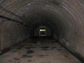 Rabstein - underground factory, photo: Radek Bartoš, CC BY 3.0 Unported
