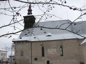 La iglesia gótica de la Santísima Trinidad en Klášterec nad Orlicí, foto: Tomáš Klement, ČRo