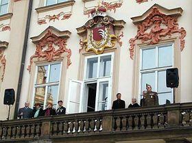 Závěrečné setkání na Staroměstském náměstí, foto: Martina Schneibergová