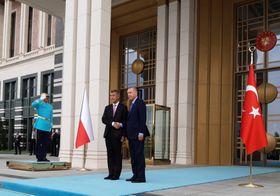 Andrej Babiš et Recep Tayyip Erdogan, photo: ČTK/Opatrý Marek