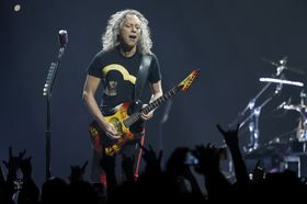 Kirk Hammett, photo: CTK
