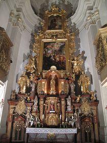 Главный алтарь костела св. Томаша на Малой Стране, Фото: Dezidor, CC BY 3.0
