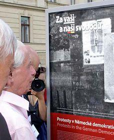 Ausstellung 'Für eure und unsere Freiheit' (Foto: Martina Stejskalová)