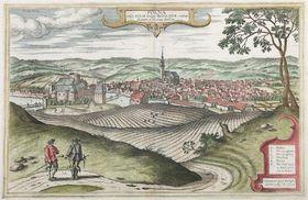 Polná en 1617