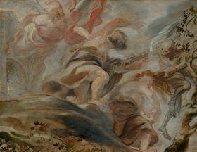 """Питер Пауль Рубенс, """"Изгнание из рая"""", 1620 фото: Архив Национальной галереи в Праге"""