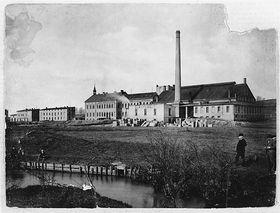 Стеклозавод Мозер, 1892 г. (Фото: Архив компании Мозер)