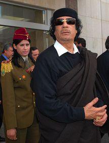 Mouammar Kadhafi, photo: James Gordon, CC BY 2.0 Generic