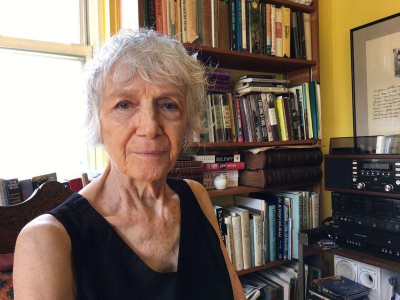 Gail Papp ve svém bytě vNew Yorku, foto: Ian Willoughby