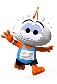 Mascota del Campeonato Europeo de Atletismo en pista cubierta en París