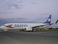 Boeing 737 Fluggesellschaft Travel Service