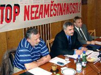 Trade unions, Ostrava, photo: CTK