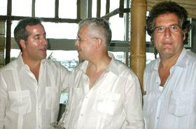 Mr Spidla talked with Cuban political dissidents in Miami (Photo: CTK)