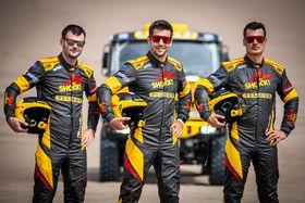 Martin Macík (uprostřed), foto: archiv Big Shock Racing