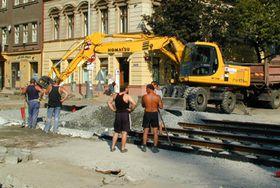 Большинство рабочих на стройках - украинцы