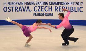 Anna Dušková and Martin Bidař, photo: CTK