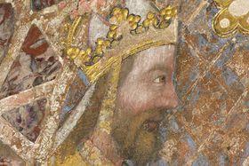 Карл IV на стене Капеллы св. Катерины, Фото: Адриана Кробова, Чешское радио