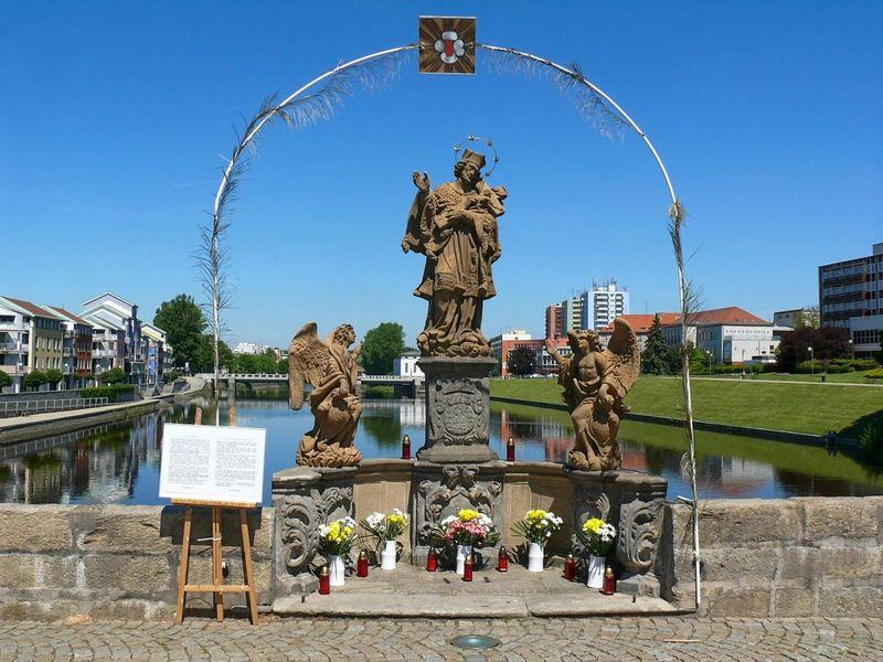 Nepomuk-Statue (Foto: Filip Černý, Archiv des Tschechischen Rundfunks)