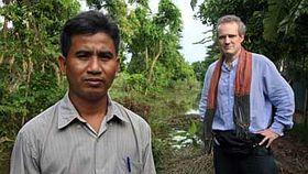 Thet Sambath, Rob Lemkin (right), photo: www.enemiesofthepeoplemovie.com