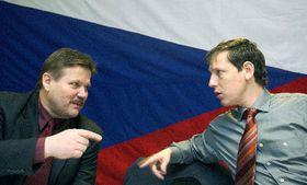 Zdenek Skromach y Stanislav Gross (Foto: CTK)