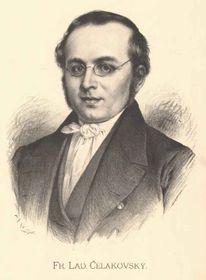 поэт, критик, переводчик, филолог, лидер чешского национального возрождения Франтишек Ладислав Челаковский