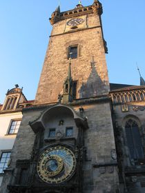 The astronomical clock at Prague Town Hall