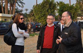 Любомир Заоралек в Абусире, Фото: ЧТК