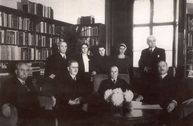 L'abdication de Tomáš Garrigue Masaryk, photo: Archives de l'Université Charles