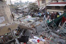 Le tremblement de terre a été dévastateur, photo: CTK