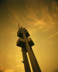 Žižkov television tower, photo: CzechTourism